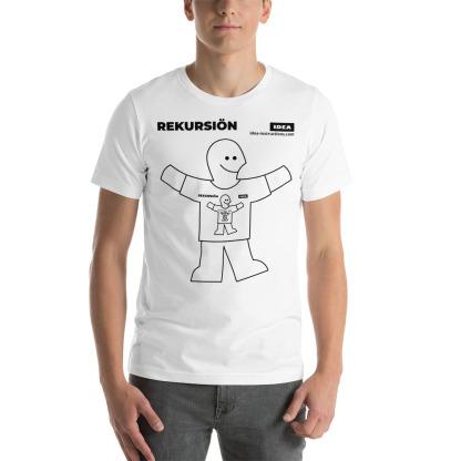 T-Shirt Rekursion White Straight